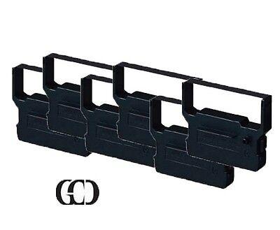 6X BLACK//RED Printer Ribbon for CITIZEN DP-624//627//630//650 iDP-3516//3520//3530