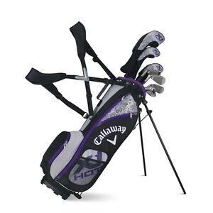Details about Callaway Golf XJ Hot Junior Complete Golf Set - Girls- 5-8 -  Left Hand