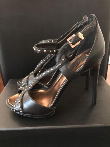 New pumps taglia 37 Shoes borchie Bcbg Maxazria Black Stilettos con tq1xIF4wn