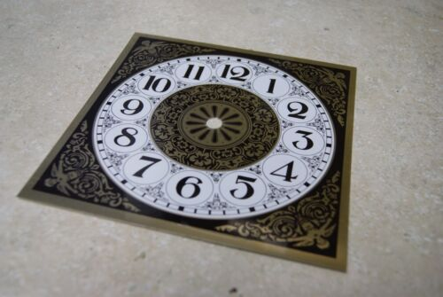 METAL  CLOCK DIAL 7 inch NEW WALL / MANTEL CLOCK PARTS