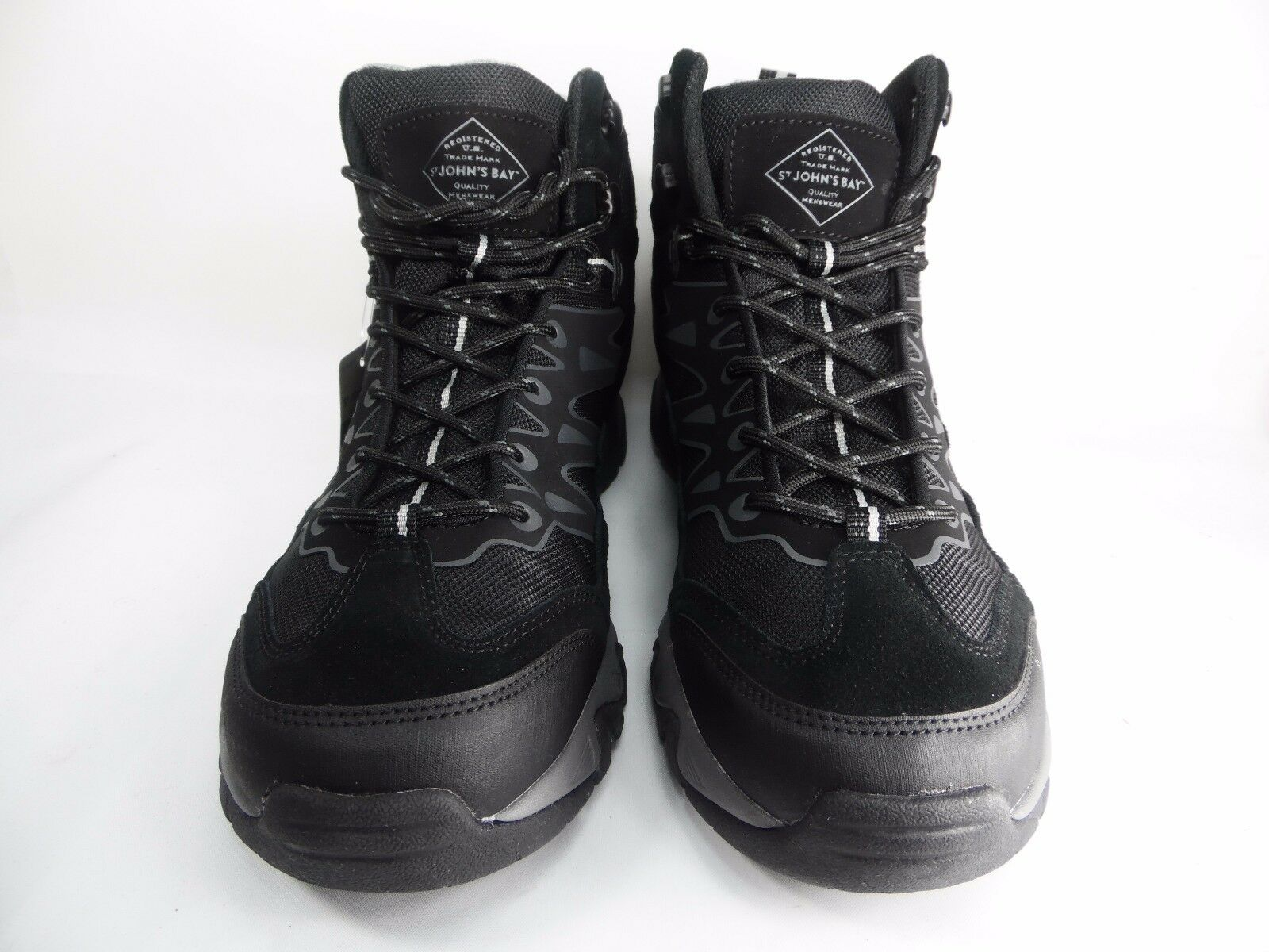 St. John's Bay Stillman Mens Hiking Boots  Black Size 9M