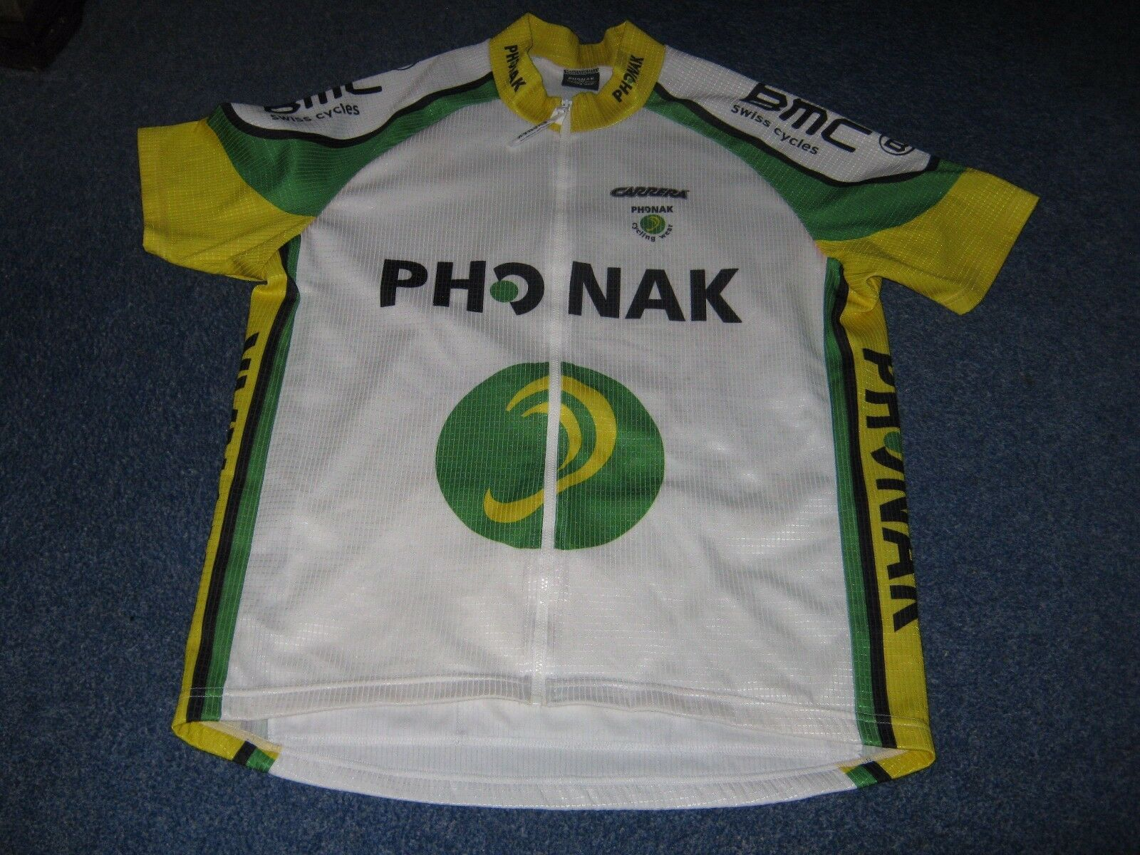 PHONAK CARRERA BMC CYCLING JERSEY [L] NOS