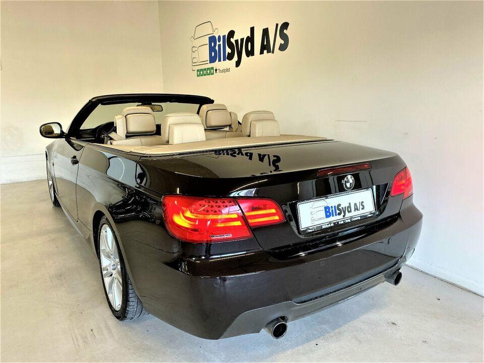 BMW 335i 3,0 Cabriolet aut. Benzin aut. Automatgear