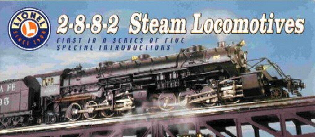 LIONEL 6 -38030 SANTA FE USRA 2 -8 -8 -2 –CAB TMCC - NY