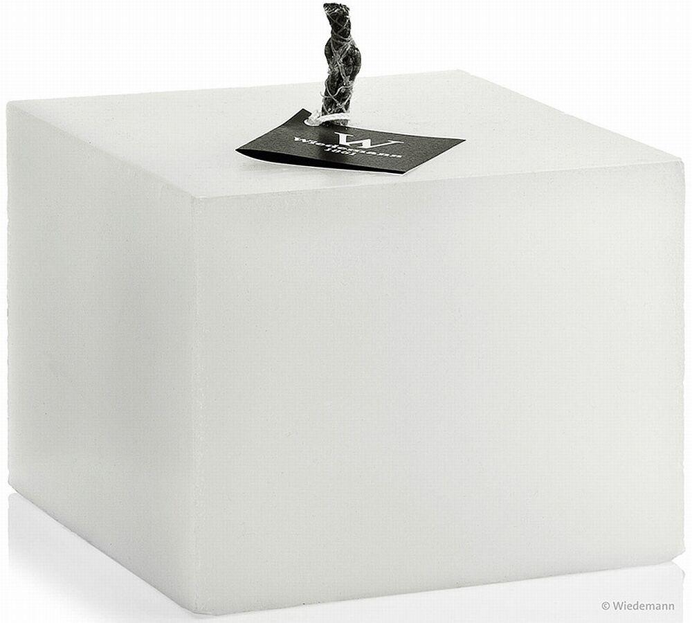 Outdoor Bougie cube moyen 24 cm x 24 cm de bougies Wiedemann Nouveauté 2019