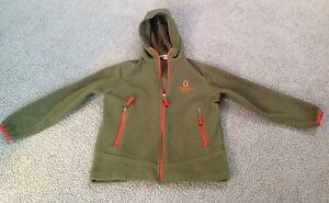 KUALAPUU-RANCH-MOLOKAI-Fleece-Jacket-Lands-End-Kids-Sz-8