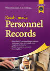 Ready-made Personnel Records by Lawpack Publishing Ltd (Paperback, 2006)