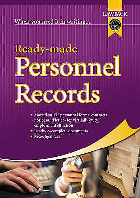 Ready-made Personnel Records (Law Pack), , Very Good Book