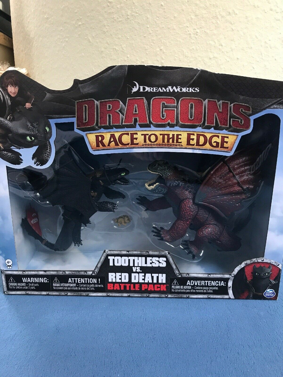 Dragons Toothless vs rosso Death battaglia Pack
