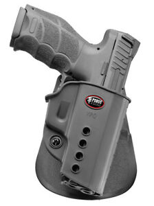 Details about Fobus VPQ Right Hand Paddle Holster For Walther PPQ 9mm, PPQ  M2 9mm &  40 cal