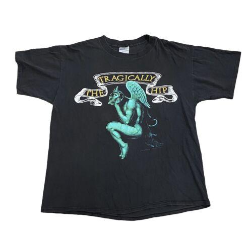 Vintage VTG The Tragically Hip Band Tee Shirt