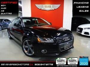 2011 Audi A5 RS WHEELS | CERTIFIED | FINANCE | 9055478778