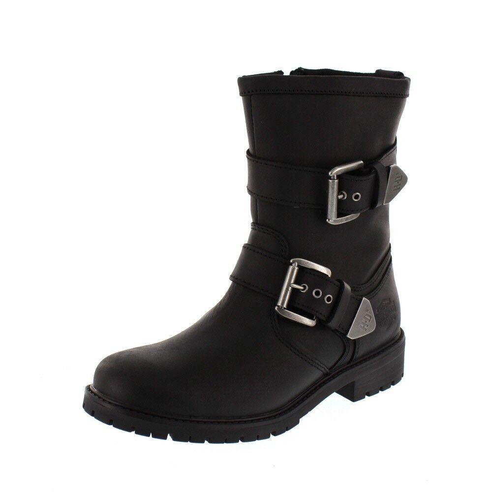 Harley Davidson Men - Boots Suede - Black