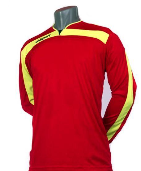 Uhlsport LIGA GK Long Prossoect Pads Abrasion Resist Pro Soccer Goalie Jersey XL