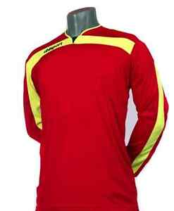 Uhlsport LIGA Large Pads Top Shirt Technical Professional Soccer Goalie Jersey L