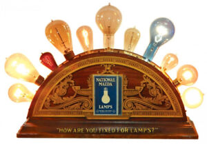 National mazda lamps display ad-how are you fixed for lamps?