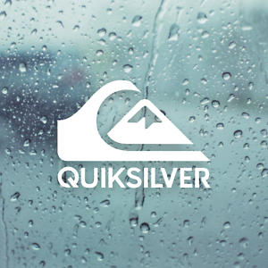 Sticker Quiksilver Red And Black Muraldecal Com