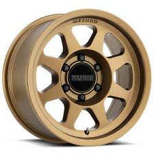 4ea 17x75 Method Wheels 701 Bronze Off Road Rimss11 Fits Nissan Armada
