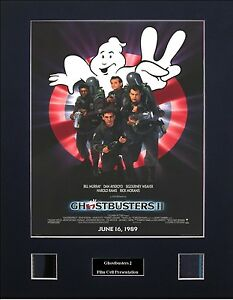 Ghostbusters 2 Photo Film Cell Presentation