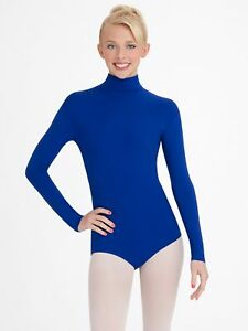 b0d42a9c54e Image is loading NEW-WITH-TAGS-Capezio-Turtleneck-Long-Sleeve-Leotard-