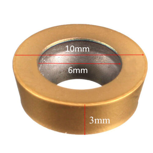 10pcs RPMT1003MO-TT LF602 Carbide Blades Milling Inserts Cutters Lathe CNC Tool