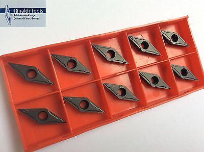 10 x Wendeplatten VBMT 110304-NN P25//M20 für Stahl VA  NEU! Mit Rechnung!!