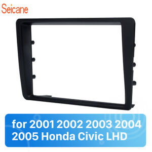 Double-Din-2001-2002-2003-2004-2005-Honda-Civic-LHD-Car-Radio-Fascia-Dash-Mount
