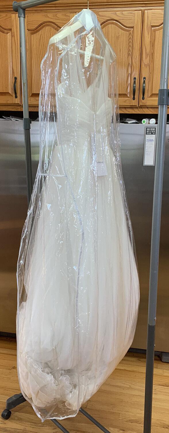 SophiaTolliY11550 Ivory Ball Gown Sleeveless Sweetheart Wedding Dress Size 12