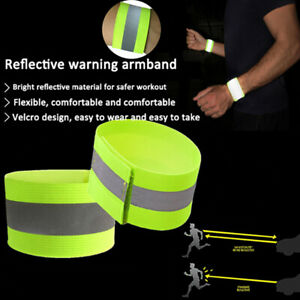 1-Sport-Sicherheit-reflektierende-Guertel-strap-night-running-glowing-Armb-ei