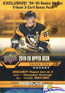 2019-20-Upper-Deck-Series-1-Hockey-EXCLUSIVE-HUGE-Factory-Sealed-MEGA-Box