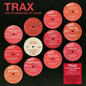 HOUSE-MUSIC-Various-Artists-TRAX-THE-FOUNDATIONS-OF-HOUSE-2xLP-180-GRAM-Remaster