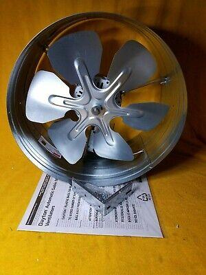 120V DAYTON 10W194 1650 CFM Gable Mount Attic Fan