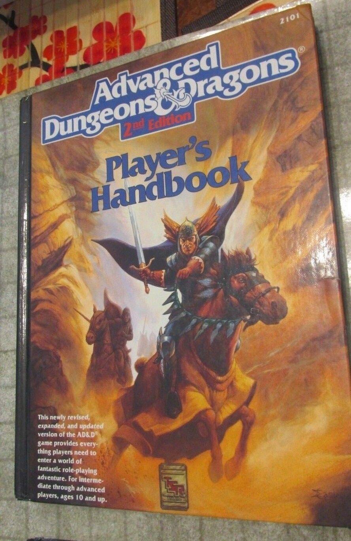 Advanced Dungeons & Dragons 2-2.5e store Grauhawk Water Deep GAZ PHB DMG MM LL
