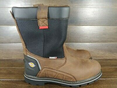 tall leather work boots