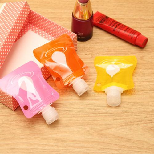 1pc Lovely Travel Mini Hand Sanitizer//Shampoo//Makeup fluid Bottle storage Tools
