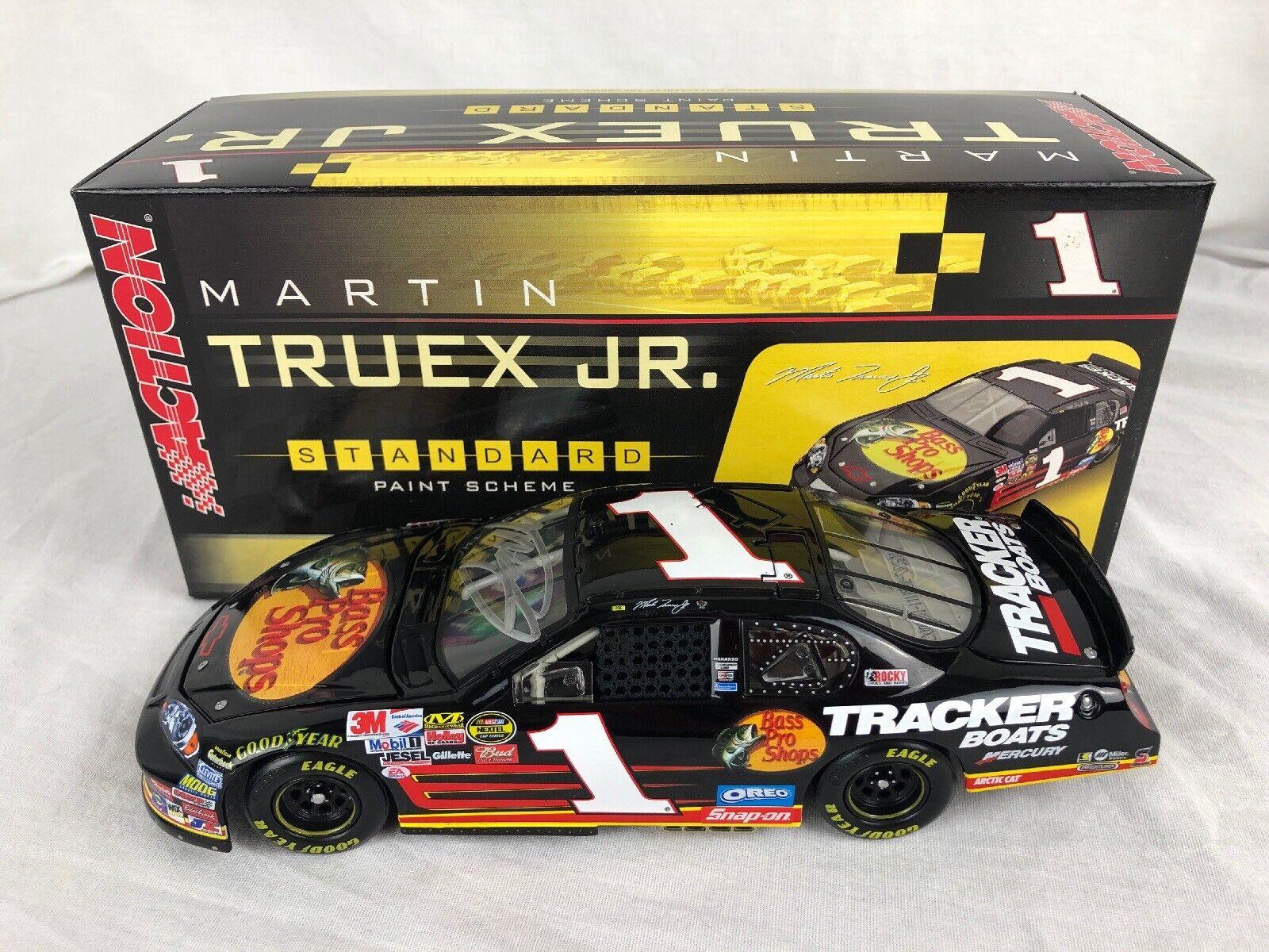 los clientes primero Acción de 2006 GM distribuidores distribuidores distribuidores Martin Truex Jr  1 autógrafo Bass Pro Shops 1 24 Diecast  mas barato