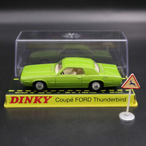 1/43 Atlas Dinky toys ref 1419 COUPE FORD THUNDERBIRD Diecast Models green