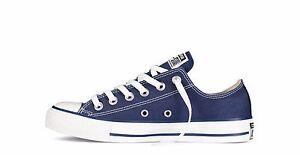 Scarpe sportive uomo/donna Converse All Star OX M9697C blu navy in tela bassa