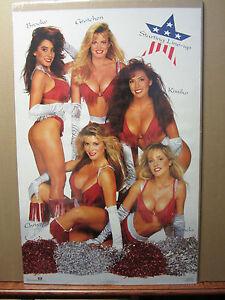The girls of Hawaiian Tropic Hot man cave car garage Vintage Poster 1993 309
