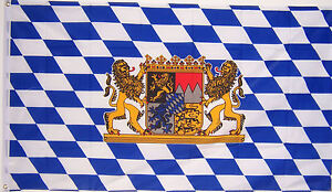 NEW-3x5ft-BAVARIA-LION-OKTOBERFEST-BAVARIAN-GERMAN-BEER-FLAG-better-quality-us