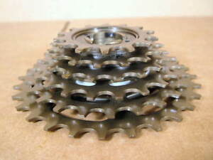 New-Old-Stock-Suntour-Alpha-6-Speed-Freewheel-14x28-Indexing-Compatible