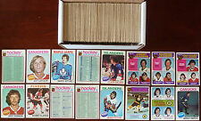 1975-76 NHL O-Pee-Chee Near Set 390/396