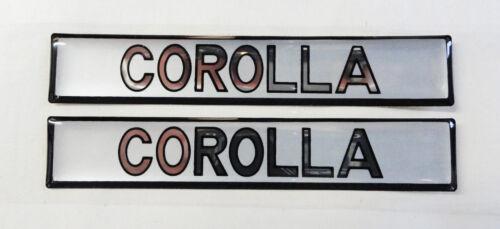 Vintage 80/'s 90/'s Automotive Door Handle Insert Accent Trim COROLLA