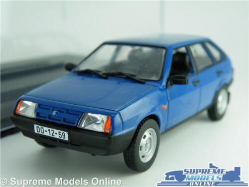DISPLAY CASE IXO IST HATCHBACK K8 LADA SAMARA 2109 MODEL CAR 1:43 SCALE BLUE