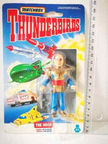 THUNDERBIRDS MATCHBOX 1992-93 ACTION FIGURES VINTAGE TOYS