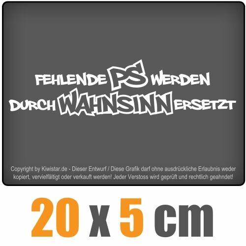 20 x 5 cm JDM Décalque sticker autocollant racing la CUT Manquants ps sont par..