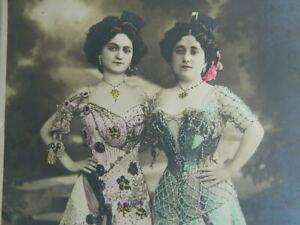 Foto Ernst Schneider Costume Tradizionale Spagnolo Folklore Andalusi 23cm XIX