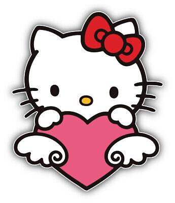 /'/'SIZES/'/' Hello Kitty Cartoon Sticker Bumper Decal