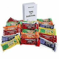 Millennium Energy Bars Assorted Flavors 18- Pack Including Emergency Guide, New, on sale