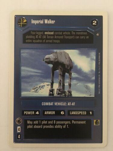 Premium Imperial Walker Star Wars CCG Decipher